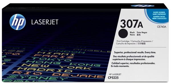 Toner Original pentru HP Negru, compatibil CP5225, 7000pag  [0]