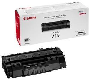 Toner Original pentru Canon Negru CRG-715, compatibil LBP3310/3370, 3000pag  [0]
