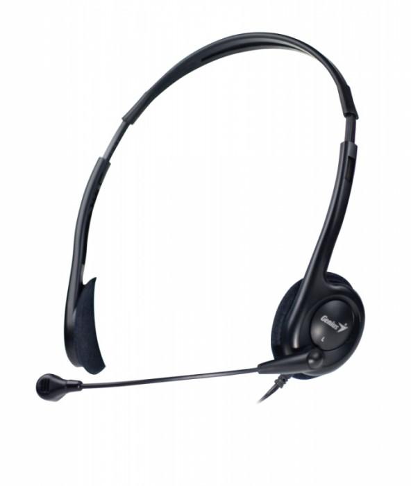Casti stereo cu microfon, Genius HS-200C  0