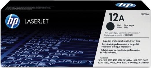 Toner Original pentru HP Negru 12A, compatibil LJ 1010/1012/1015, 2000pag  0