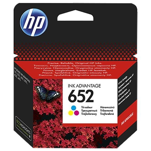 Cartus cerneala Original HP F6V24AE Tri-color 652,pentru DESKJET 2135 AIO  0