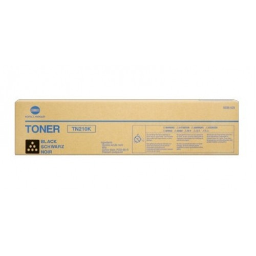 Toner Original pentru Konica-Minolta Negru TN-210K, compatibil BizHub 250/252, 20000pag  0