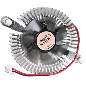 Cooler VGA DeepCool V65, ventilator 50mm, aluminiu 0