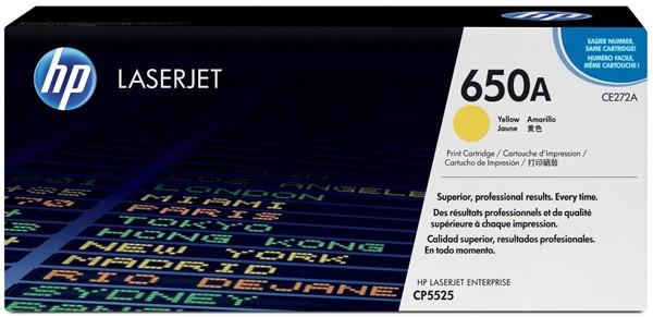 Toner Original pentru HP Yellow 650A, compatibil CP5525, 15000pag  [0]