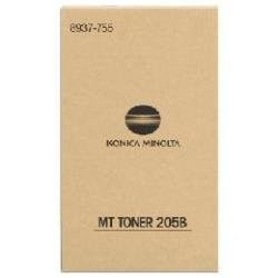Toner Original pentru Konica-Minolta Negru MT-205B, compatibil Di 2510, 1 flacon, 14000pag  0