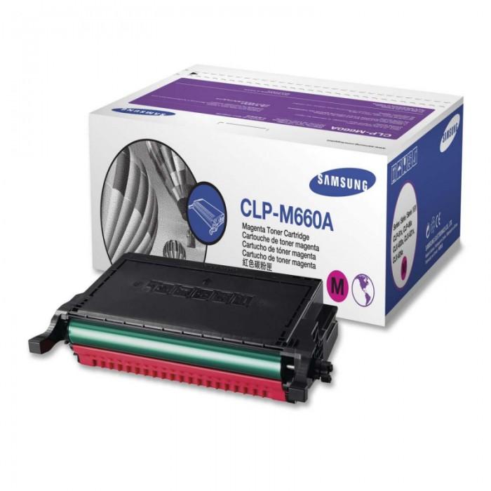 Toner Original pentru Samsung Magenta, compatibil CLP-610ND/660, 2000pag  [0]