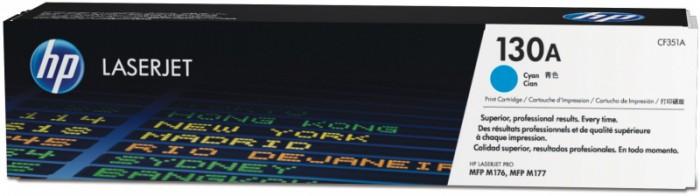 Toner Original pentru HP Cyan 130A, compatibil M176/M177, 1000pag  [0]