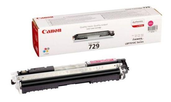 Toner Original pentru Canon Magenta CRG-729M, compatibil LBP7018C, 1000pag  0