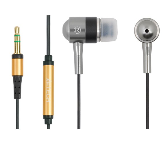 Casti Metalice A4TECH , intraauriculare cu fir de 1.7m, frecventa 20Hz - 20kHz, sensibilitate 102dB, cu jack de 3.5mm, diametru difuzor de 10mm si HIFI Sound Quality, culoare: negru-argintiu 0