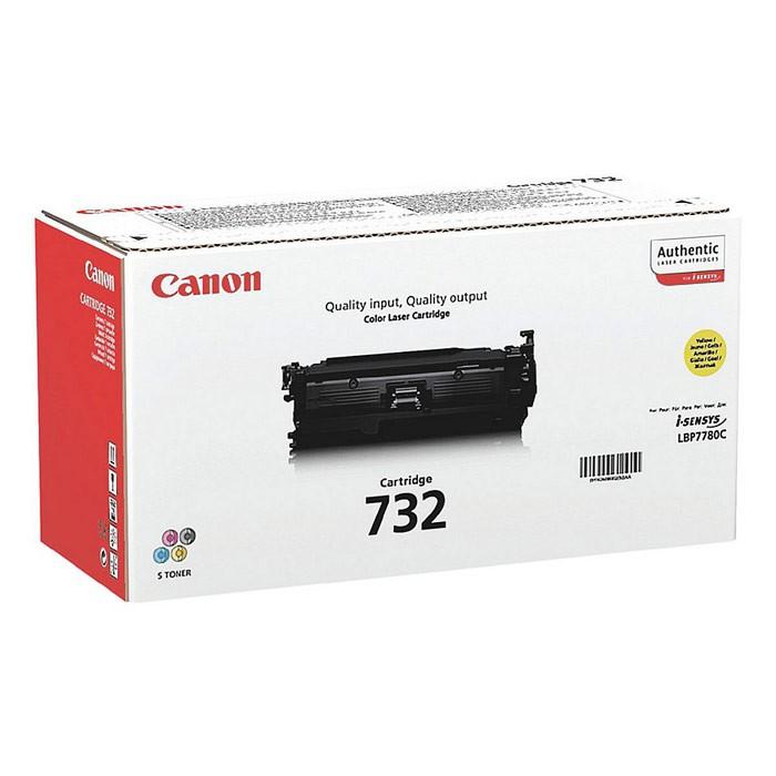 Toner Original pentru Canon Yellow CRG-732Y, compatibil LBP7780C, 6400pag  [0]