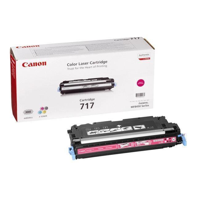 Toner Original pentru Canon Magenta CRG-717M, compatibil MF8450, 4000pag  [0]