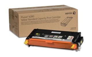 Toner Original pentru Xerox Yellow, compatibil Phaser 6280, 2200pag  0