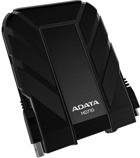 """HDD Extern ADATA HD710 1TB, 2.5"""", USB 3.0, rezistent la apa si socuri, Black  0"""