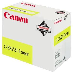 Toner Original pentru Canon Yellow C-EXV21, compatibil IRC2880/3380, 14000pag  [0]