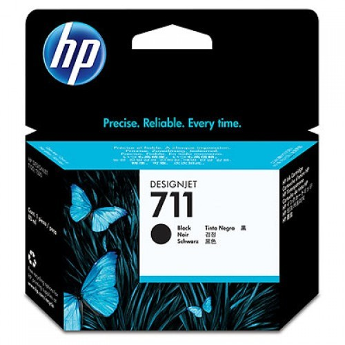 Cartus cerneala Original HP Black 711, compatibil DesignJet T120/T520, 38ml  [0]