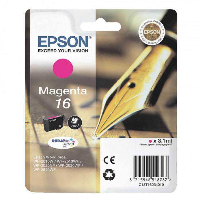 Cartus cerneala  Original Epson Magenta 16XL  compatibil  WF2540  0
