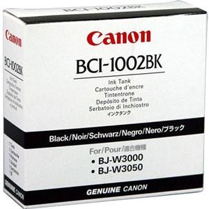 Cartus cerneala Original Canon Black, BCI-1002BK, compatibil W30X0, 42 ml  [0]