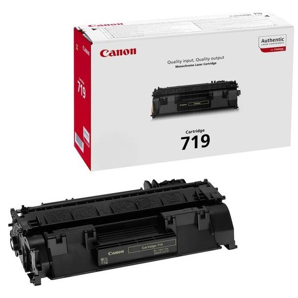 Toner Original pentru Canon Negru CRG-719, compatibil LBP6650/6300/MF5840/5880, 2100pag  [0]