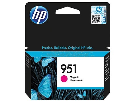 Cartus cerneala Original HP Magenta 951, compatibil OfficeJet Pro 251/276/8100/8600, 700pag  0