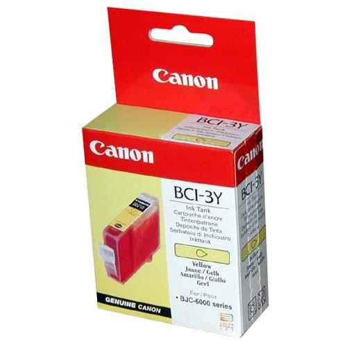 Cartus cerneala Original Canon BCI-3Y Yellow, compatibil BC-31  [0]