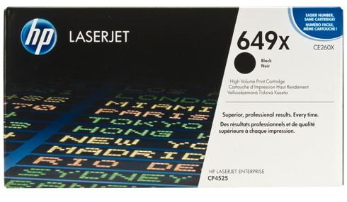 Toner Original pentru HP Negru, compatibil CP4525, 17000pag  [0]