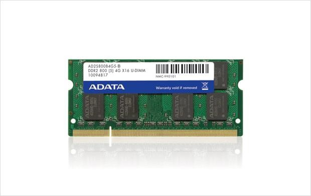 ADATA SODIMM 1GB DDR2 800MHz Bulk  0