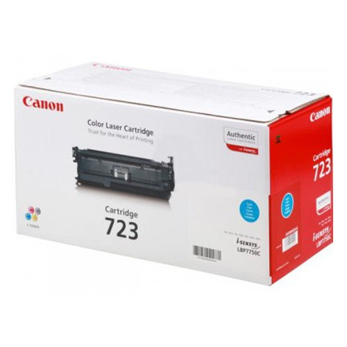 Toner Original pentru Canon Cyan CRG-723C, compatibil LBP7750CDN, 8500pag  [0]