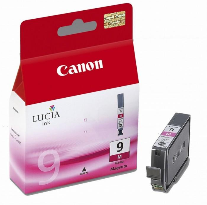 Cartus cerneala Original Canon PGI-9M Magenta, compatibil MX7600, 14 ml  0