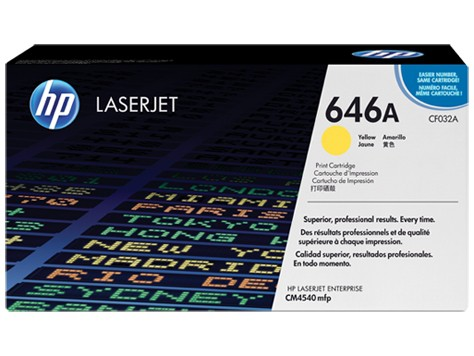 Toner Original pentru HP Yellow, compatibil CP5450, 12500pag  [0]