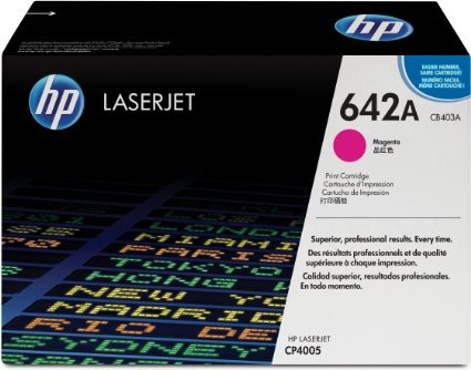 Toner Original pentru HP Magenta, compatibil CP4005, 7500pag  [0]