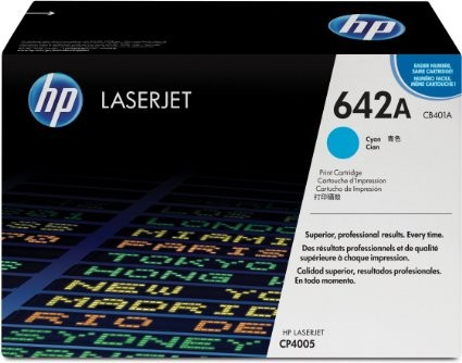 Toner Original pentru HP Cyan, compatibil CP4005, 7500pag  0