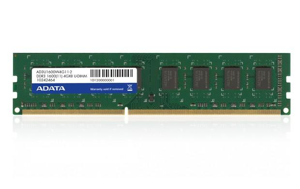 ADATA 4GB DDR3 1600MHz Bulk  0