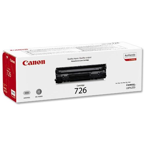 Toner Original pentru Canon Negru CRG-726, compatibil LBP6200d, 2100pag  [0]
