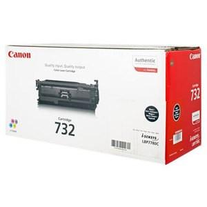Toner Original pentru Canon Negru CRG-732B, compatibil LBP7780C, 6100pag  0
