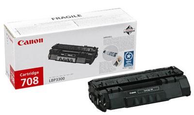 Toner Original pentru Canon Negru CRG-708, compatibil LBP3300, 2500pag  0