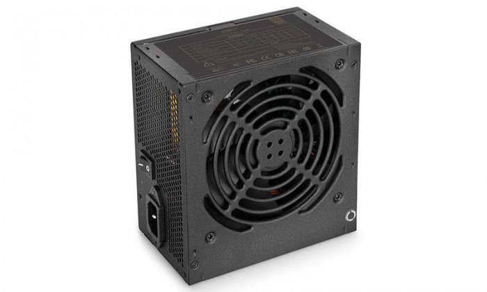 "SURSA DEEPCOOL, 600W (real), fan 120mm PWM, 80 Plus Bronze, 85% eficienta, 4x PCI-E (6+2), 5x S-ATA ""DA600"" [0]"