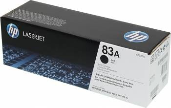 Toner Original pentru HP Negru Dual Pack 83A, compatibil M225, 2x1500pag  [0]