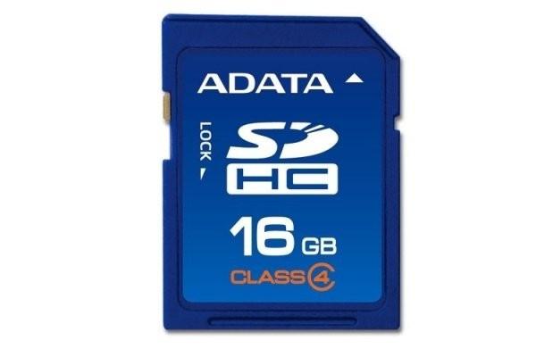 Secure Digital Card SDHC 16GB class4 ADATA  [0]