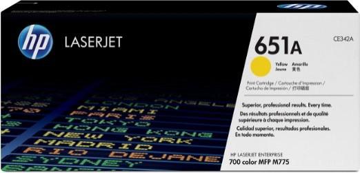 Toner Original pentru HP Yellow 651A, compatibil M775mfp, 16000pag  [0]