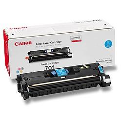 Toner Original pentru Canon Cyan E-701C, compatibil LBP5200, 4000pag  [0]