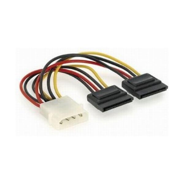 Cablu Alimentare 2x SATA, lungime cablu: 15cm, adaptor intern, bulk, GEMBIRD  [0]