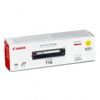 Toner Original pentru Canon Yellow CRG-716Y, compatibil LBP5050, 1500pag  [0]