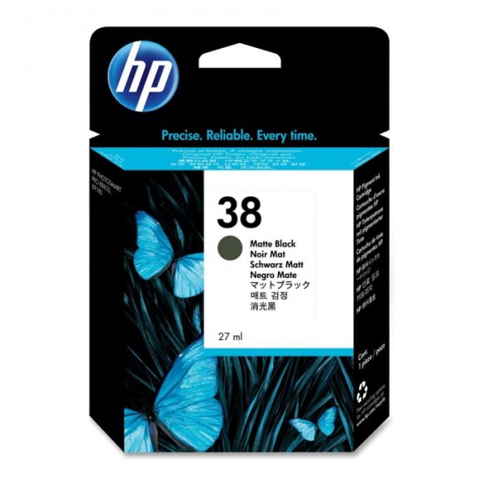 Cartus cerneala Original HP Black Matte 38 w.Vivera ink, compatibil PhotoSmart B9180/Pro B8850/9180, 27ml  0