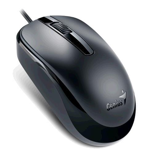 """MOUSE GENIUS """"DX-120"""", Black, USB  0"""