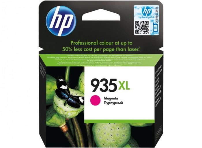 Cartus cerneala Original HP Magenta 935XL, compatibil OfficeJet Pro 6830, 825pag  0