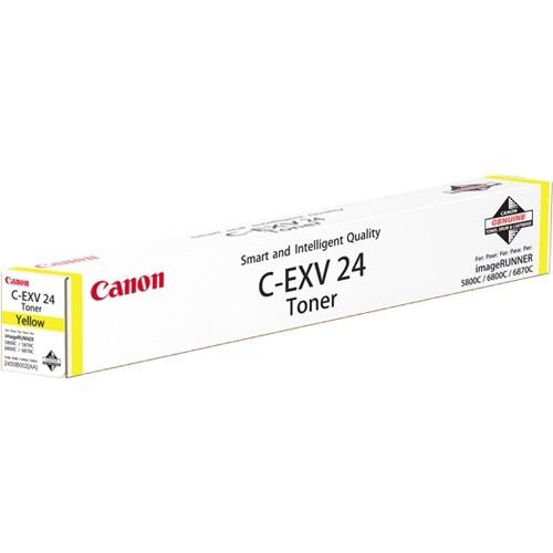 Toner Original pentru Canon Yellow C-EXV24, compatibil IRC58xx/68xc, 9500pag  [0]