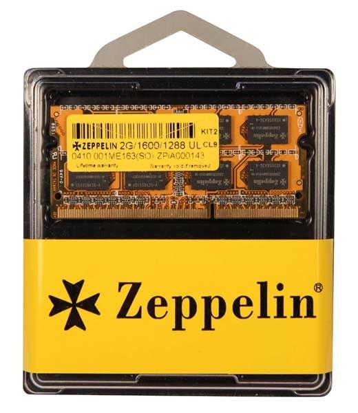 ZEPPELIN SODIMM 2GB DDR3 1600MHz  [0]