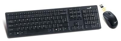"Kit tastatura+mouse Wireless GENIUS ""SLIMSTAR 8000ME"", 2.4GHz, Plug&Play  0"