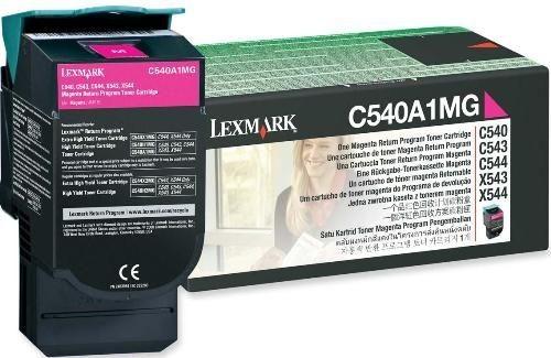 Toner Original pentru Lexmark Magenta, compatibil C540/543/544/X543/544, 1000pag  [0]