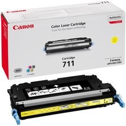 Toner Original pentru Canon Yellow CRG-711Y, compatibil LBP5300/5360, 6000pag  [0]
